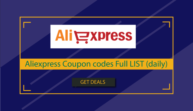 aliexpress Coupon codes Full LIST