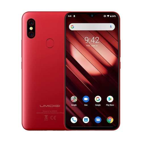 UMIDIGI F1 Play 6GB RAM 64GB ROM Global Version Smartphone Gearbest Coupon Promo Code