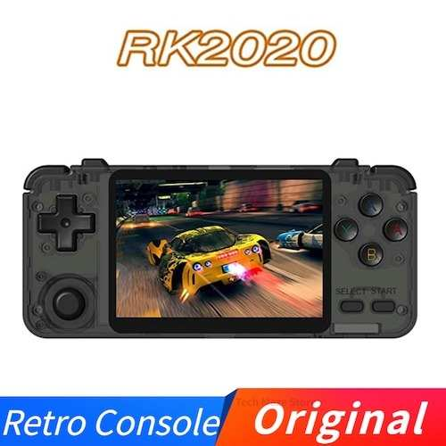 Original RK2020 Retro Console 3.5inch IPS Screen Portable Handheld Game Console PS1 N64 Games Video Game Player Gearbest Coupon Promo Code