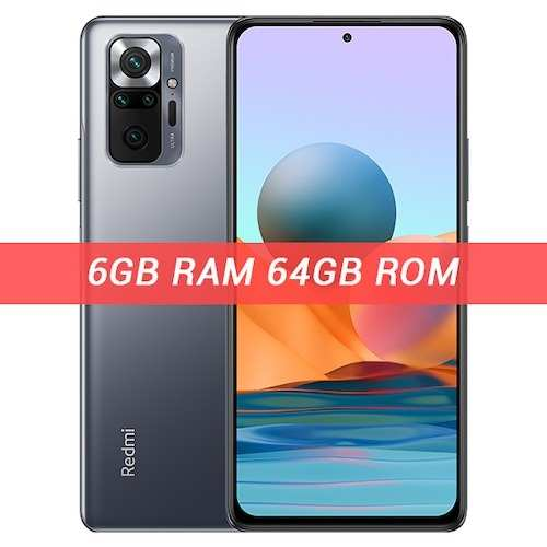 Xiaomi Redmi Note 10 Pro 6GB 64GB -ChinaGearbest Coupon Promo Code